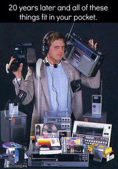 Hehehe... You gotta ❤️ technology!