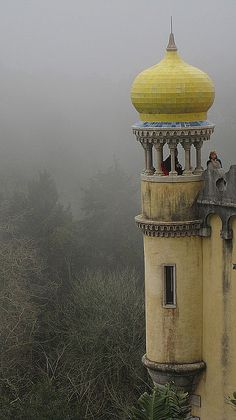 Pena National Palace (Sintra, Portugal) I love Sintra. It is such a beautiful place with so much history and art. Would recommended to everyone.