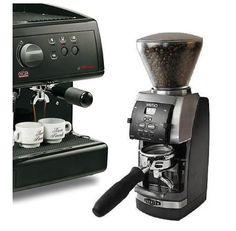Simonelli Espresso Maker & Baratza Grinder Combo - http://www.teacoffeestore.com/simonelli-espresso-maker-baratza-grinder-combo/