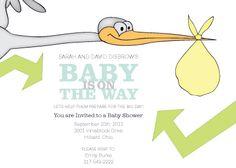 Baby Shower Invitation - Bundle on the Way