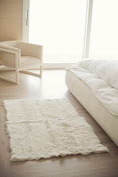 la carpeta blanco