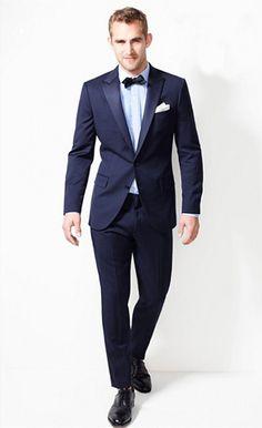 Daily Endorsement: J. Crew Navy Italian Wool Ludlow Tuxedo: The GQ Eye: GQ on Style: GQ