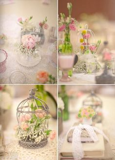 You and me magazine - wedding centerpieces and table decor
