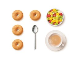 Macine: Biscotti con Panna Fresca | Mulino Bianco Doughnut, Breakfast, Desserts, Food, Morning Coffee, Tailgate Desserts, Dessert, Postres, Deserts