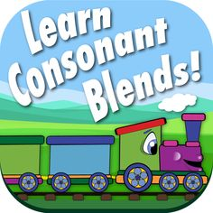 Consonant Blend Sort is a timed game that was designed to improve how quickly your child can recognize and sort images by the consonant blend they begin with.  It does this by showing your child an image and ask them to pick the train car with the matching consonant blend. Each higher level gives them less time to fill the train. Don't worry, they can begin in practice mode without the timer, then, when they are ready, they can select play. Available for Android and IOS.