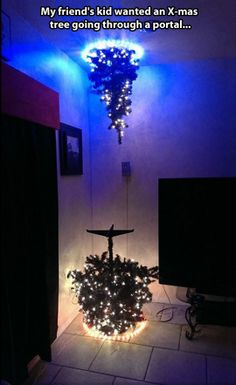 You know you are a video game geek and Portal fanatic, when...this is your Christmas tree.