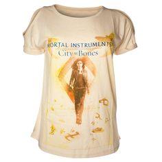 Camiseta chica Cazadores de sombras. Clary Fray