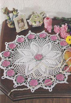 Floral Doily Crochet Pattern