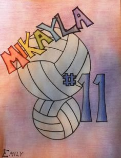 Volleyball poster Volleyball Signs, Volleyball Cheers, Volleyball Posters, Soccer Poster, Volleyball Pictures, Kids Poster, Volleyball Ideas, Poster Ideas, Volleyball Decorations