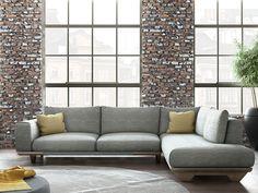 Γωνιακός καναπές Milos | Sectional sofa Milos #homedecor #homedecorideas #furniture #interiordesign #livingroom #livingroomdecor #sectionalsofa #sofa Sofa, Couch, Mobile Home, Love Seat, Furniture, Home Decor, Settee, Settee, Decoration Home