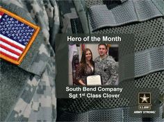 Congratulations to Chicago Recruiting Battalion's Hero of the month from South Bend Recruiting Company: Sgt 1st Class Clover. https://www.facebook.com/ArmyRecruitingBnChicago