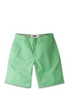 Mountain Khakis Men's Relaxed-Fit Poplin Shorts - Green - 32 10In.