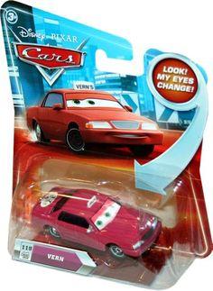 Disney / Pixar CARS Movie 155 Die Cast Car with Lenticular Eyes Series 2 Vern Taxi