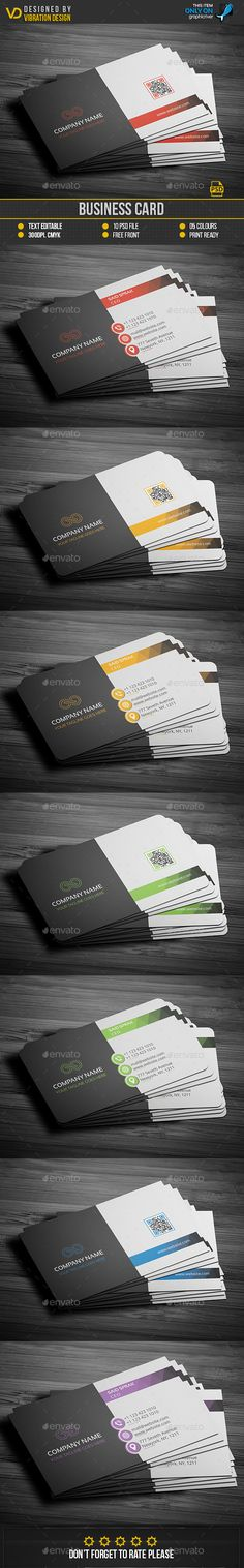 Buy Business Card by kawsarnshimo on GraphicRiver. FEATURES:Business Card Easy Customizable and Editable Business card in with bleed CMYK Color Design in