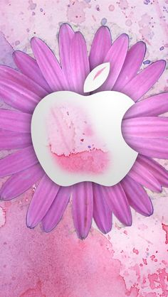 Apple iphone 5 wallpaper - bing images apples in pink and red! в 2019 г. Apple Logo Wallpaper Iphone, Free Iphone Wallpaper, Iphone Background Wallpaper, Phone Wallpapers, Spring Wallpaper, Flower Wallpaper, Apple Background, Background Pics, Apple Picture