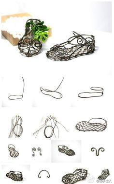 telden sandalet yapimi
