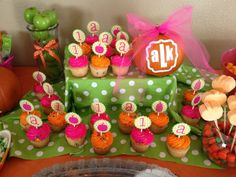 Pumpkin theme 1st birthday party. I like the mix of apples. Super cute fall birthday theme!