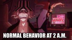 Urahara Kisuke showing every fan its alrite to be a little mad Bleach Meme, Bleach Funny, Bleach Fanart, Bleach Manga, Anime Demon, Manga Anime, Bleach Yachiru, Clorox Bleach, Bleach Characters