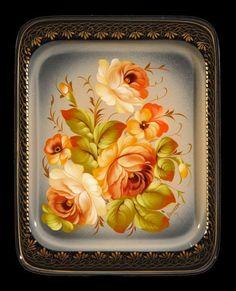 Zoya Moiseeva :: Zhostovo decorative art manufactory