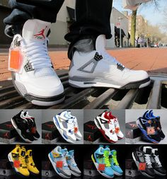 Air Jordan 4 Retro|Cheap Jordan Sneaker, I want a pair this any color will do :)