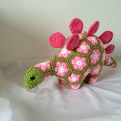Ravelry: satijnvlinder's Puff the Stegosaurus