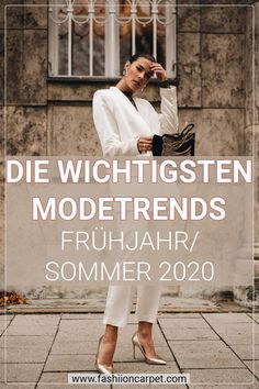Fashion Forecast: Modetrends 2020 - Fashion Trends 2020 - Latest Runway Styles of the Season Punk Fashion, Fashion Models, Fashion Outfits, Womens Fashion, Fashion Tips, Fashion Design, 2020 Fashion Trends, Fashion 2020, Mode Outfits