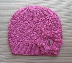 Slip Stitch Weave Hat pattern by Yelena Chen Baby Knitting Patterns, Baby Hat Patterns, Baby Hats Knitting, Loom Knitting, Free Knitting, Stitch Patterns, Knitted Hats, Crochet Yarn, Crochet Hooks