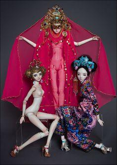 ✯ ★❤️^__^❤️★ ✯ Doll*icious Beauties--ENCHANTED DOLLS by Marina Bychkova ✯ ★❤️^__^❤️★ ✯