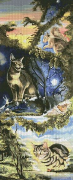 Cats and Fairies Twice As Nice [CLYNE127] - $9.75 : Heaven And Earth Designs, cross stitch, cross stitch patterns, counted cross stitch, christmas stockings, counted cross stitch chart, counted cross stitch designs, cross stitching, patterns, cross stitch art, cross stitch books, how to cross stitch, cross stitch needlework, cross stitch websites, cross stitch crafts