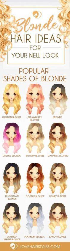 24 Beautiful Blonde Hair Shades Gorgeous Shades of Blonde Hair Dyed Tips, Hair Dye Tips, Dye My Hair, Honey Blond, Pelo Multicolor, Beautiful Blonde Hair, Blonde Hair Shades, Blonde Color, Rainbow Hair