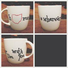 DIY coffee mug ideas