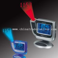 promotional Desktop Projection Alarm Clock With Thermometer ...