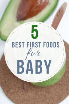 Have an infant who's getting ready to eat their first foods? Skip the rice cerea. Have an infant who's getting ready to eat their first foods? Skip the rice cereal and aim for more nutritious choices - here are 5 of the best first foods for baby. Best First Baby Foods, Baby First Solid Food, Solid Foods For Baby, Rice Cereal Baby, Best Baby Cereal, Cereal Food, Oatmeal For Baby, Baby Oatmeal Cereal, Baby Puree