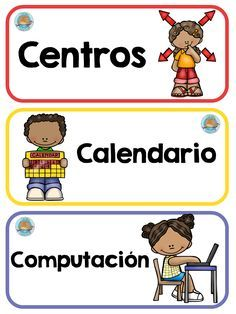 carteles-rutimas-y-horarios-6 Bilingual Classroom, Classroom Labels, Classroom Rules, Classroom Language, Preschool Classroom, Classroom Ideas, Kindergarten, Anchor Charts First Grade, English Classroom Decor
