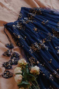 Blue And Golden Poppy Lane Lehenga Indian Bridal Outfits, Indian Designer Outfits, Poppy Lane Lehenga, Lengha Blouse Designs, Indian Lehenga, Pakistani, Lehnga Dress, Indian Gowns Dresses, Dress Indian Style