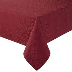 Autumn Scroll Damask Tablecloth Damask Tablecloth And