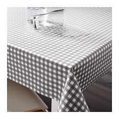 IKEA - BERTA, Plastic-coated fabric, The acrylic-coated fabric is easy to keep clean - just wipe off or machine wash.Can be easily cut to the desired length without hemming.