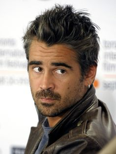 Colin Farrell is one of Ireland's best rising stars in Hollywood and abroad today. Featured in Lisa Pietsch's Hot Guys in Sweaters. Colin Farrell, Hot Actors, Actors & Actresses, True Detective Season, Celebridades Fashion, Anthony Hopkins, Handsome Faces, Handsome Man, Hollywood