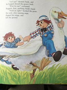 Raggedy Ann and Andy Go Flying A Golden Storytime by weseatree