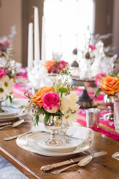 Far Above Rubies: Pretty Spring table