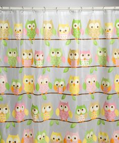 Take a look at this Love & Nature Shower Curtain by Saturday Knight on today! My Home Design, House Design, Owl Photos, Owl Always Love You, Home On The Range, Baby Owls, Own Home, My Dream Home, To My Daughter