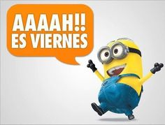 Viernes Amor Minions, World Language Classroom, Spanish Jokes, Office Art, Teaching Spanish, Happy Friday, Friday Fun, Vocabulary, Funny Pictures
