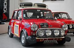 This #MiniCooper is ready to go! #Racing