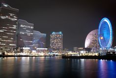 Yokohama, Japan. Been here and I have been on that Ferris wheel!!