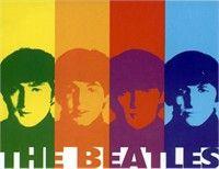 Click Image Above To Buy: The Beatles Warhol Fleece Throw Blanket