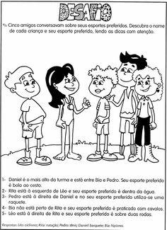 """"""" Cantinho do Educador Infantil """": DESAFIOS MATEMÁTICOS. PROBLEMAS ILUSTRADOS. MODELOS DE ATIVIDADES DE MATEMÁTICA PARA 4º , 5º e 6º ANOS"""