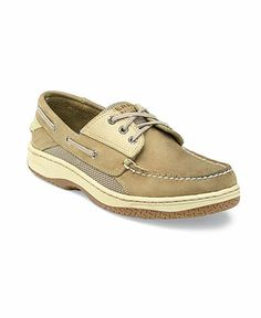 Sperry Top-Sider Shoes, Billfish 3 Eye Boat Shoes - Mens Boat Shoes - Macy's in dark tan