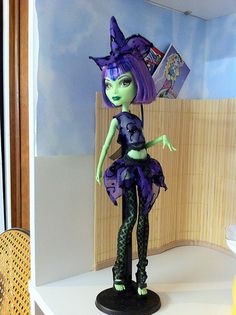 Witch outfit for monster high dolls