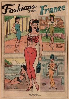 10 Style Icons of the Comic Book World Image detail for -Hoodoo That Voodoo, From Betty and Veronica Vintage Pop Art, Vintage Comic Books, Vintage Comics, Archie Comics Characters, Comic Book Characters, Comic Character, Archie Comics Veronica, Archie Betty And Veronica, Bulldogs