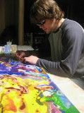 The Artist – Bramblitt. Original, beautiful art work. I would love one of his paintings!